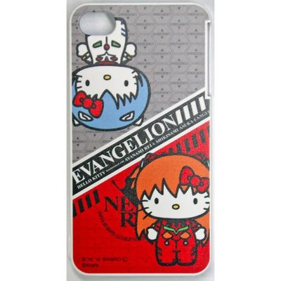 《Greens selection》日本EVANGELION 福音戰士 X HELLO KITTY 聯名企劃iPhone4/4s手機殼