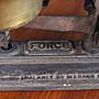 已售出 法國鑄鐵秤/古董秤 歐洲古董老件(05_Ton-03-1)【小學樘_歐洲老家具】