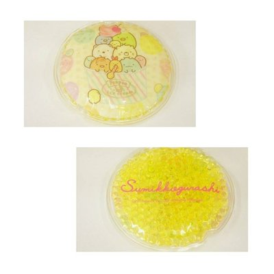 【莓莓小舖】正版 ♥ San-X 角落生物 圓形透明果凍顆粒 保冷劑