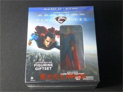[3D藍光BD] - 超人:鋼鐵英雄 Man of Steel 3D + 2D 限量雙碟公仔紀念版