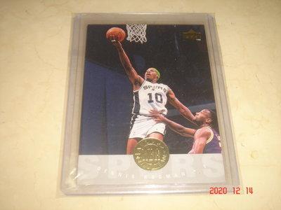 美國職籃 NBA Spurs Dennis Rodman 小蟲 1995 Upper Deck #176 球員卡