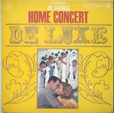 黑膠唱片 An Alshire  - Home Concert de luxe 101 Strings