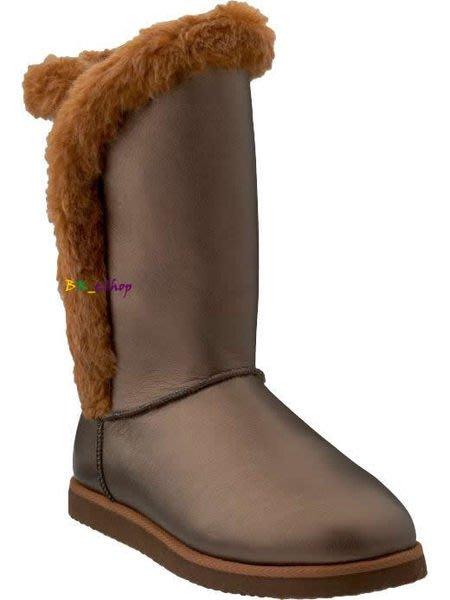 【美衣大鋪】☆ OLD NAVY 正品☆Faux-Fur Leather Adoraboots 美靴