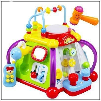 佳佳玩具 ----- 快樂小天地 15合1 六面聲光智力盒 多功能音樂智慧盒 益智學習組 禮物【CF64029】
