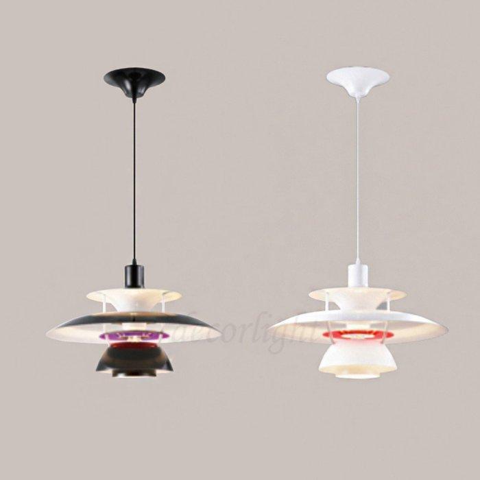 【一盞燈】設計師款 經典復刻版 ph5 吊燈 白色 黑色 XD3-000073