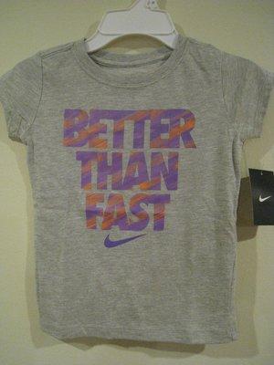 Nike 女童短T桖  5T