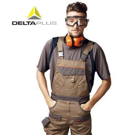 工安READY購 DL-405348 代爾塔DELTA 連身吊帶褲 多口袋 配備護膝袋 鬆緊可調 結實耐穿 多色可選