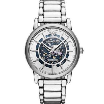 Alina 精品代購 EMPORIO ARMANI AR60006 義大利精品 復刻工業雙面鏤空機械 男錶女錶  歐美代購