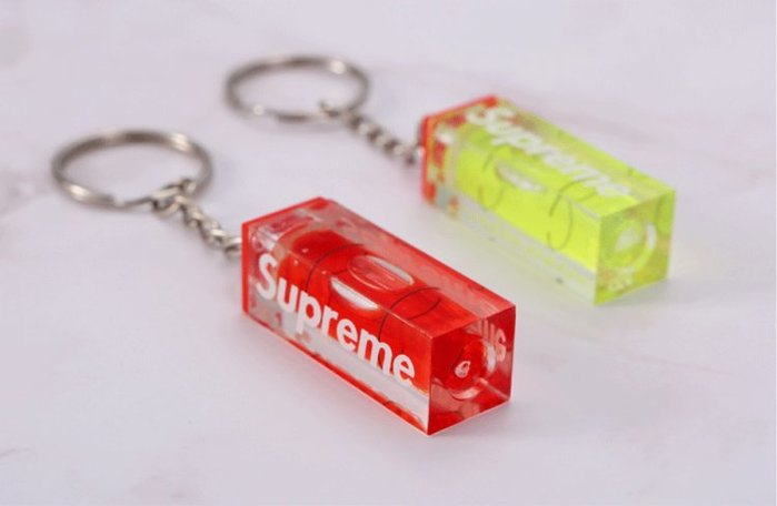全新商品 Supreme 18FW Unseen Level Keychain 鑰匙圈 鑰匙扣