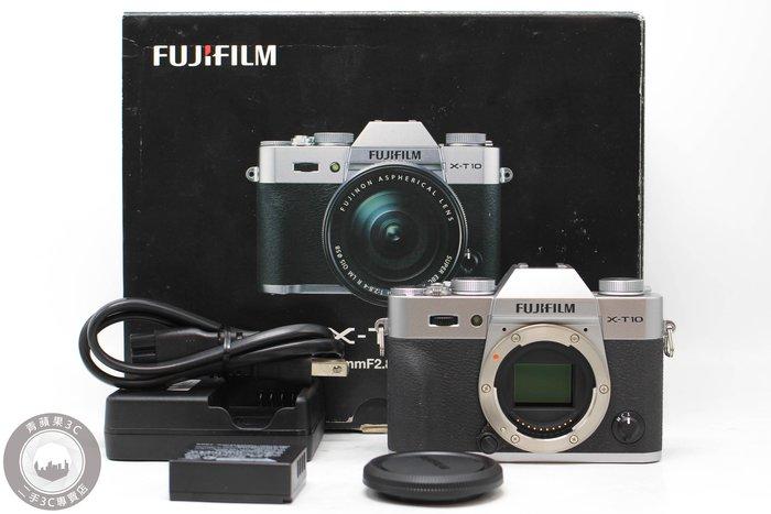 【高雄青蘋果3C】Fujifilm X-T10 單機身 1630 萬像素 APS-C 二手相機 #52820