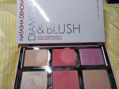 natasha denona diamond  & blush 腮紅打亮盤 01 darya