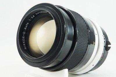 **日光銀鹽** Nikon Non-AI Nikkor-Q 135mm F2.8 #536