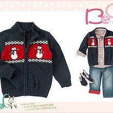 【B& G童裝】正品美國進口Crazy8 Snowman Fair Isle Sweater 雪人圖樣毛線長袖外套12-18mos