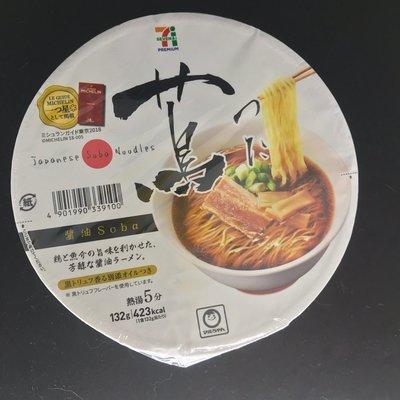 日本7-11 蔦泡麵