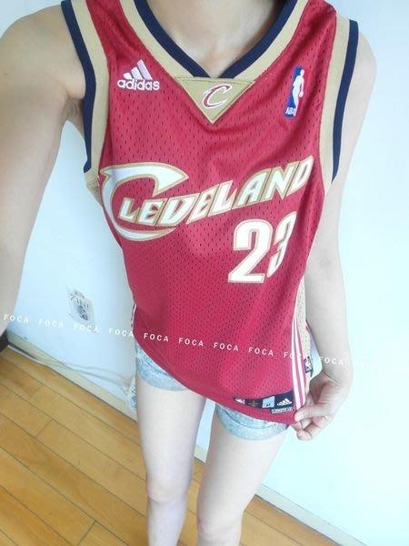 FOCA☆Adidas ☆ 愛迪達 NBA swingman 復古 洞洞 騎士隊 Lebr