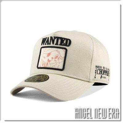 【ANGEL NEW ERA】ONE PIECE 航海王 懸賞單 喬巴 米白色 老帽 卡車帽 東映授權 限量帽 贈帽撐