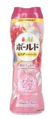 2021 日本限定 P&G Bold 衣物柔軟香香豆520ml   罐裝  衣物柔軟芳香 芳香顆粒