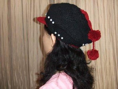 英坊**流行造型個性主張編織帽