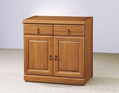 【南洋風休閒傢俱】精選餐櫃系列-碗盤櫃組 餐櫃 櫥櫃 收納櫃-正樟木2.7尺碗盤櫃CY358-950