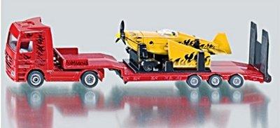 【阿LIN】1866AA SIKU 平板拖車 1:87 輕航機 模型 玩具 SU1866 精緻 生日禮物 麗嬰國際 正版