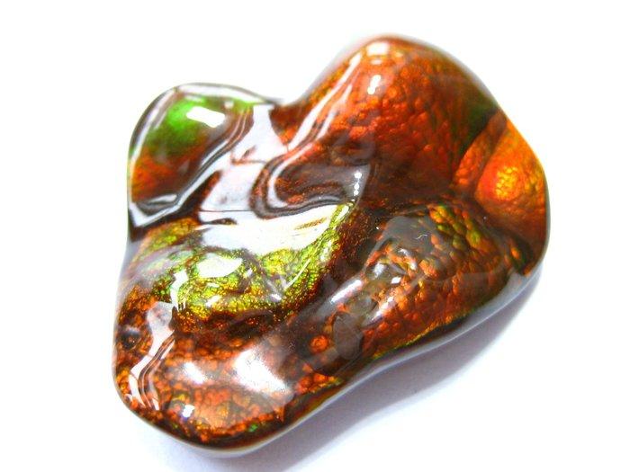 【Texture & Nobleness 低調與奢華】天然無處理 超優質經典藏品 墨西哥火瑪瑙-21.8克拉