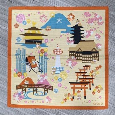 萬萬選物。日本亂亂買。現貨區。日本製。風呂敷。裝飾巾。包物巾。小桌巾。散步的柴犬。京都款