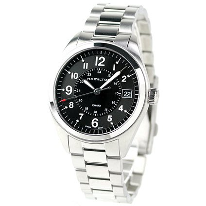HAMILTON H68551933 漢米爾頓 手錶 40mm FIELD QUARTZ 鋼錶帶 男錶女錶