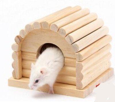 『PETS寵物精品』卡諾老鼠木頭小屋