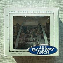 🇺🇸100%全新 美國USA 中古絕版 聖路易斯拱門 St. Louis Gateway Arch 模型擺設 Model 紀念品Souvenir