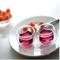 【自在坊】茶具 隔熱品茗茶杯 心形款雙層玻璃杯 賞茶杯  每個50元 另有造型杯