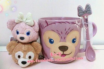現貨 香港 迪士尼代購 Disney  達菲 雪莉玫 雪莉梅 TSUM 玩偶 屏幕擦 (香代兒)