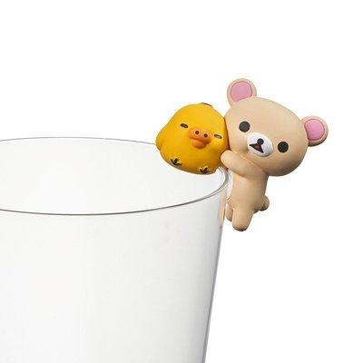 【QQ公仔物語】【NA119】【現貨】Putitto 拉拉熊 杯緣 第1彈 單賣 小白熊小雞款 滿千免運