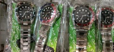 omax 綠水鬼 黑水鬼 日本機蕊石英錶 全不鏽鋼 非勞力士 SEIKO OMEGA 卡西歐 星辰錶