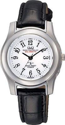 日本正版 CITIZEN 星辰 Q&Q HJ03-304 腕錶 女錶 女用 手錶 皮革錶帶 電波錶 日本代購
