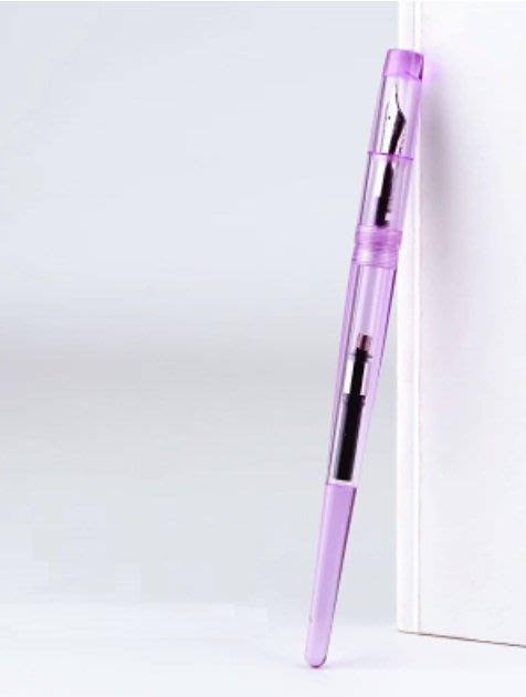 ☆艾力客生活工坊☆N-074 中國鋼筆論壇Penbbs 267 旋轉吸墨 鋼筆 藝術鋼筆(0.5F)15色-葡萄