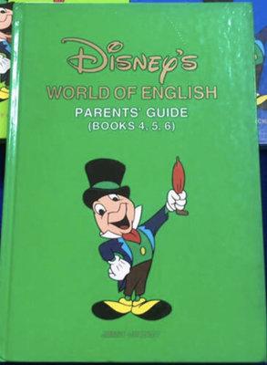 【兩手書坊@】PARENTS GUEDE 主課程指導手冊~寰宇迪士尼美語WORLD OF ENGLISH