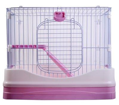 ☆汪喵小舖2店☆ RB雷比特精緻單層兔籠 T8 / 防噴尿設計、加深抽屜方便清理
