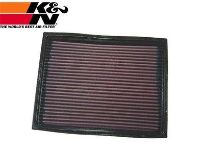 【Power Parts】K&N 高流量原廠交換型空氣濾芯 33-2737 LAND ROVER DISCOVERY