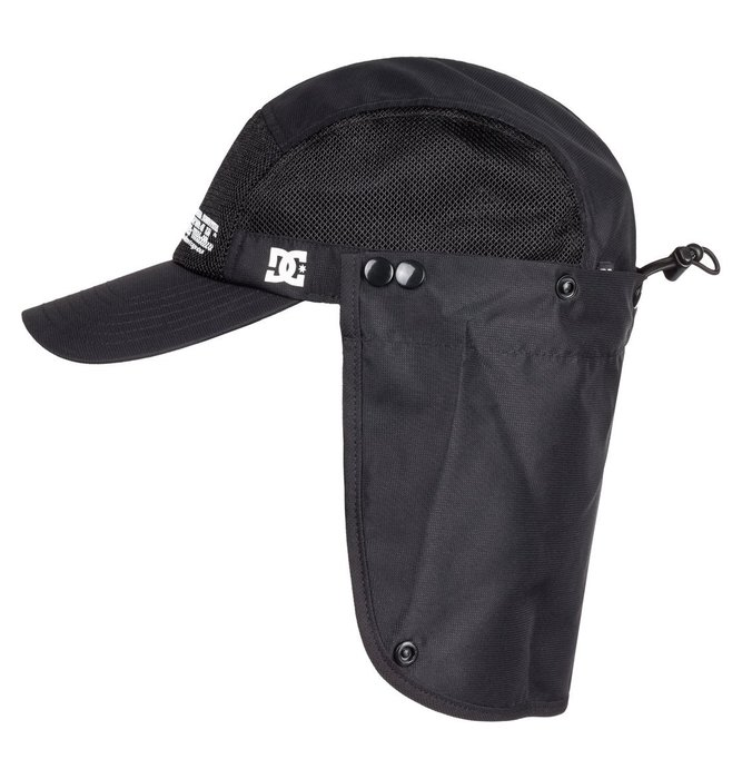 [CABAS滑板店] DC MNT CAMPER CAP 黑│滑板 可調 五分帽 遮陽 網帽