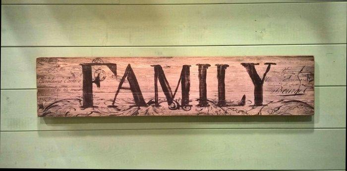 《齊洛瓦鄉村風雜貨》復古木質壁掛掛飾 木板掛飾 居家裝飾 home family welcome三種樣式