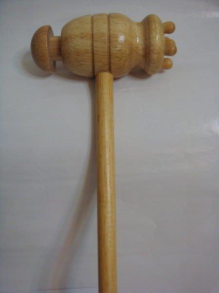 【佳樺按摩器22舖】MIT原木色木製捶打棒健康槌肩背穴道舒壓器捶背棒按摩槌拍打棒按摩器批發