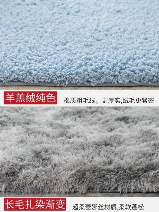 地毯北歐風地毯臥室客廳毛絨地墊床邊毯飄窗毯加厚羊羔絨滿鋪可愛 〖新生活〗