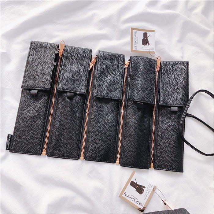 太心動 獨特設計 可拆卸拉錬款  SEPHORA  專櫃限定配送 刷具包 化妝包 收納包 捲筒包 (SBS50)