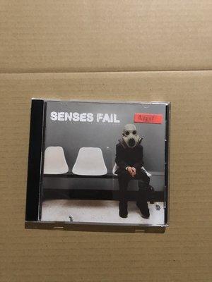 *還有唱片二館*SENSES FAIL 二手 A1211 (封面底破.下標幫結)