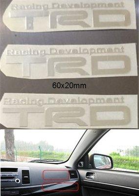 豐田TOYOTA Vios Altis Wish Camry Rav4 86 TRD金屬車貼 車標 車身標誌 金屬薄貼 台中市