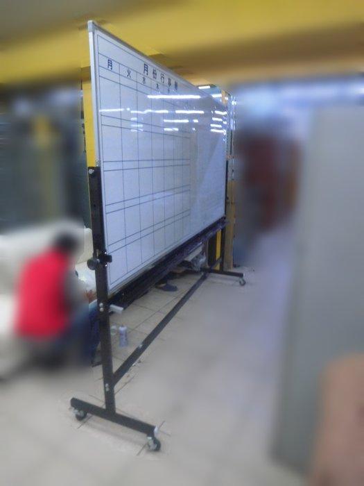 新竹二手家具買賣推薦百豐悅-二手OA辦公用4*8月份板 有板架 120*240公分白板 台北二手家具收購電器回收2手家電