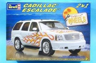 利華Revell拼裝汽車模型85-2881 1/25 凱迪拉克Wheels 轎車