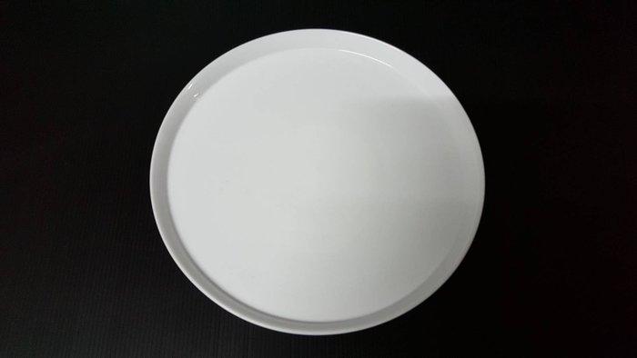 【無敵餐具】白瓷圓平盤(28cm)日式瓷器/餐盤/擺盤 開店量多可來電洽詢【UT002】