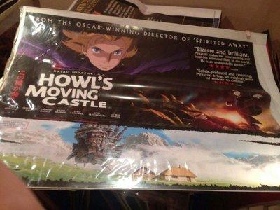 霍爾的移動城堡-Howl's Moving Castle (2004)原版英橫版海報