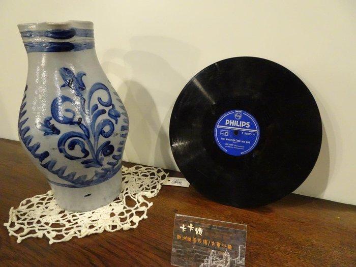 【卡卡頌 歐洲跳蚤市場/歐洲古董】荷蘭PHILIPS_OVE SOPP十吋78轉 西洋流行老歌黑膠唱片